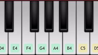 تعليم عزف اغنية فين لياليك | على بيانو الجوال 🎹
