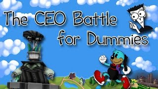 the ceo battle for dummies toontown rewritten tips and tricks