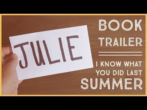 I Know What You Did Last Summer by Lois Duncan | BOOK TRAILER