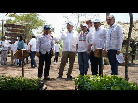 'Sembrando Vida', asamblea ejidal, desde Balancán, Tabasco.