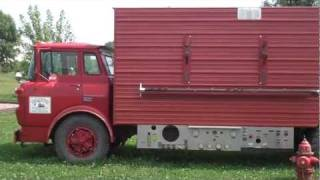 Portable Chicken Coop Aka 1975 427 Chevy Fire Truck