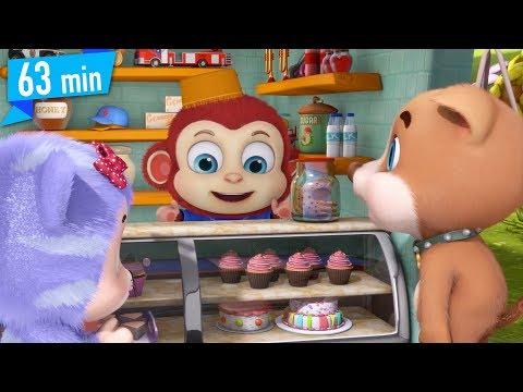 Ek Bandar Ne kholi Dukan - hindi rhymes for children - hindi animation song for kids by jugnu kids