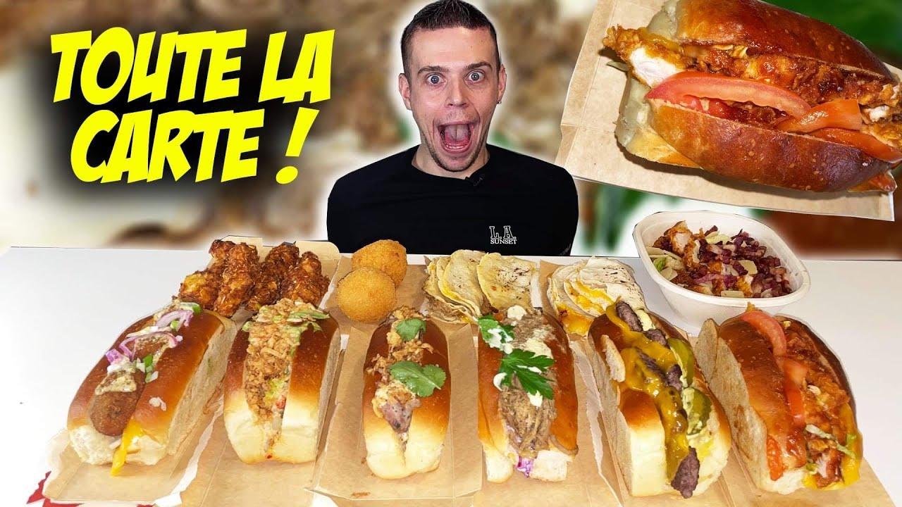 Download JE MANGE TOUTE LA CARTE de ce RESTO de ROLLS SANDWICHS !