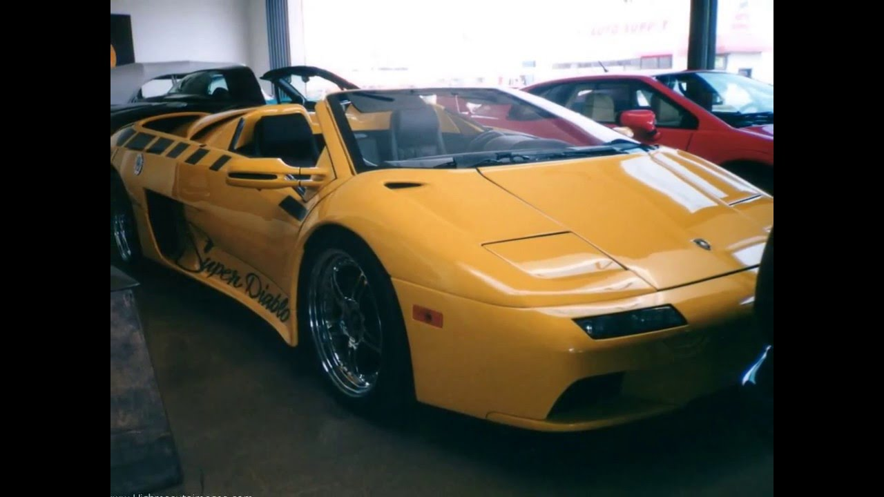Lamborghini Diablo Vttt Youtube