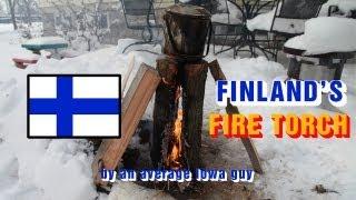 Finnish Fire Torch - Raappanan Tuli