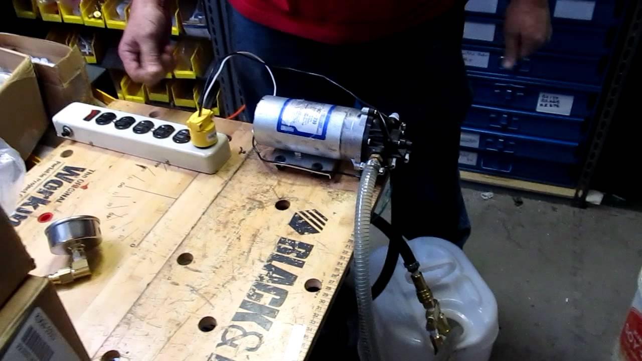 Shurflo 8035 963 239 Pump Testing Youtube