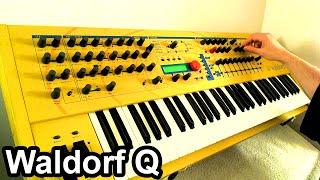 WALDORF Q - Glitch House / Ambient IDM Music Soundscape 【SYNTH DEMO】