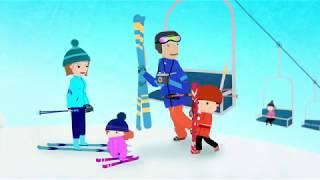 мультфильм Disney - Нине Надо Выйти! - серия 02 - Снег | сериал для малышей
