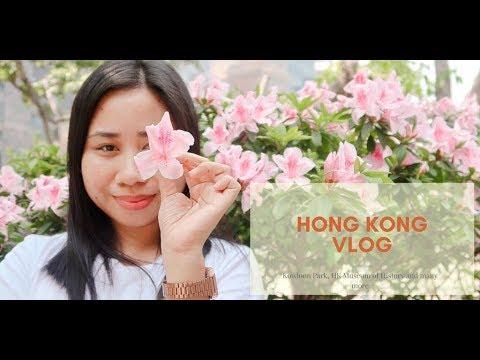VLOG: HONG KONG DAY 1 | Kowloon Park, HK Museum of History, HK Cultural Center, etc