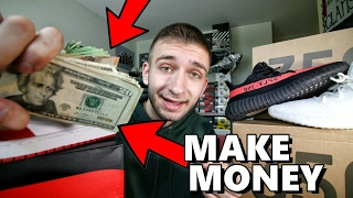 best way to resell sneakers make thousands of dollars
