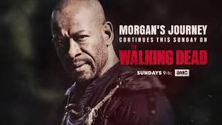 Fear the Walking Dead AMC Season 4 Lennie James's First Day on Set