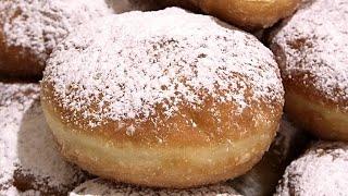 ПОНЧИКИ С ПОВИДЛОМ. Наши любимые./Delicate crispy jam donuts