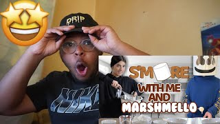 S'more with me and Marshmello | Charli D'Amelio - Reaction