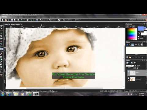 How to color a black and white photo in paintshop pro