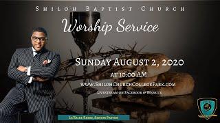 Shiloh Baptist Church: August 2, 2020