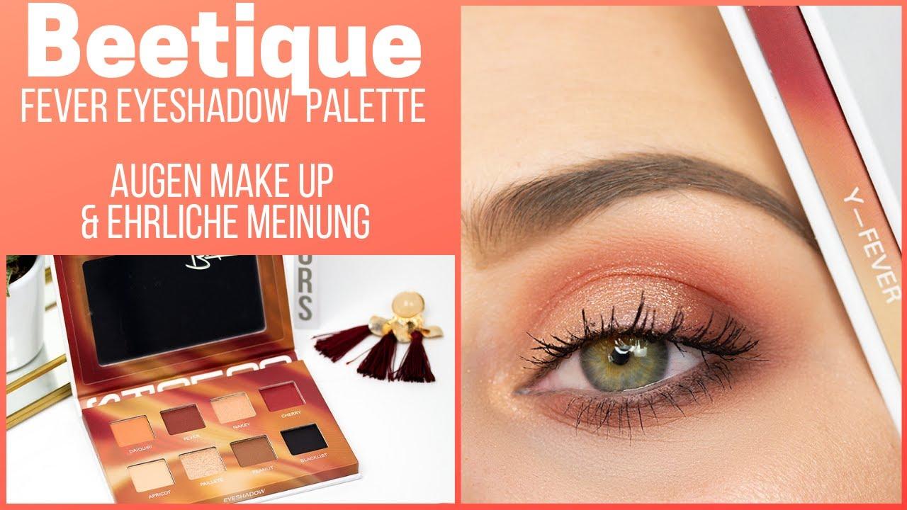 Beetique Fever Eyeshadow Palette Augen Make Up Ehrliche Meinung