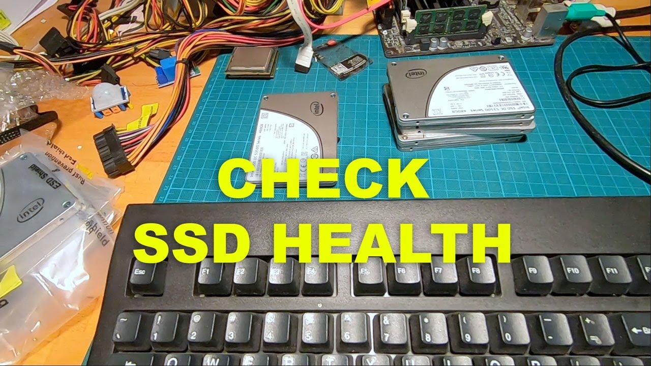 Check SSD Drive Health [easy - 5 min]