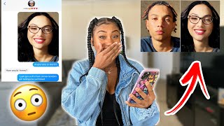 TURNING MY BOYFRIEND INTO A GIRL & ACCUSING HIM OF CHEATING!!