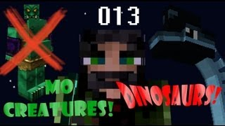 Minecraft Dinosaurs & Mo Creatures 13 - New Dinosaur Breeding Lab
