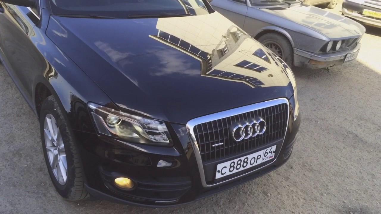 Как узнать настоящий пробег на Audi Q5 - YouTube