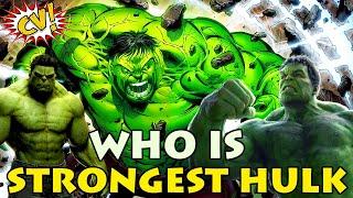 Top 10 Strongest Hulks Explained || #ComicVerse