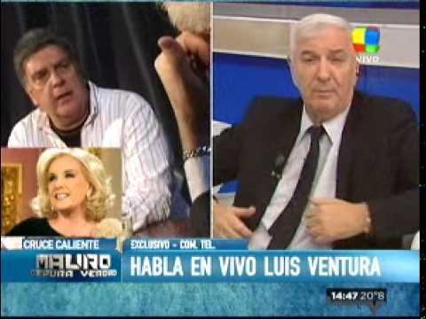 Ventura: Hay actitudes de Mirtha que me molestan
