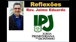 Precisamos de Deus - Lamentações 5.21 - Rev. Jaime Eduardo
