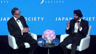 Japan Society Annual Dinner - Keynote Dialogue with Ajay Banga and Douglas Peterson