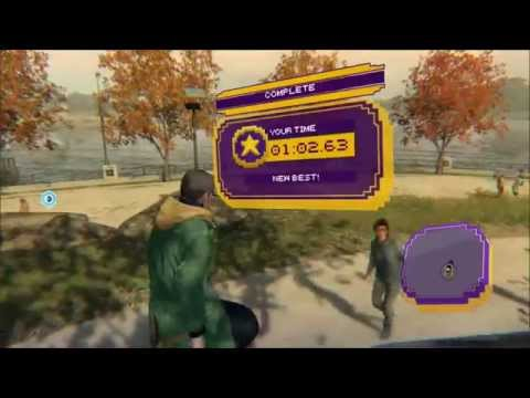 Watch Dogs: Easy Cash Run Gold Medal!