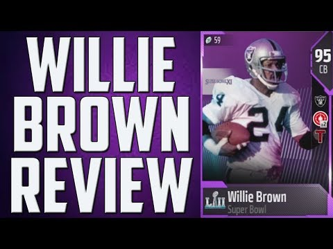 How Good is 95 Overall Willie Brown? MUT 18 Card Review