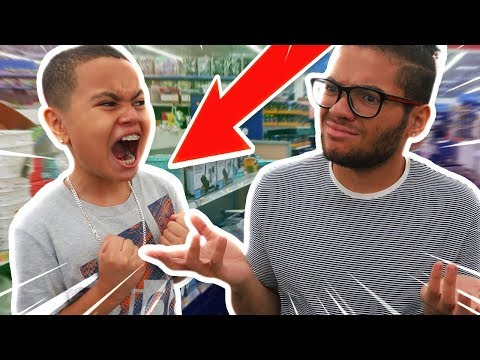 IGNORING MY LITTLE BROTHER FOR 24 HOURS! (HE RAGED!!) *PRANK!!!*
