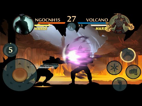 Shadow Fight 2 - Defeated Volcano with amazing power | Underworld updated fragman