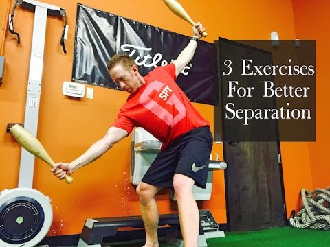 3 Golf Exercises For Better Separation In Your Golf Swing