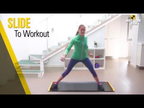 Just Slide Gym - Fitness Training Mat - YouTube
