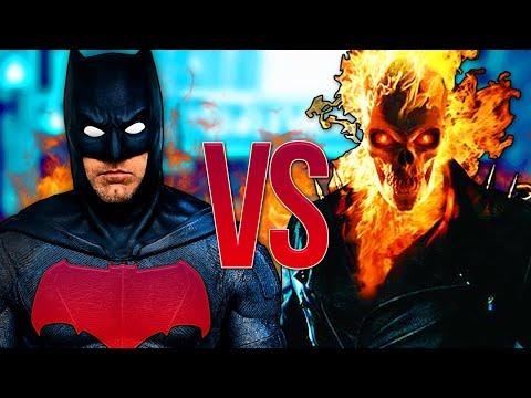 Видео: ПРИЗРАЧНЫЙ ГОНЩИК VS БЭТМЕН | Ghost Rider Песня ПРОТИВ Batman Фильм
