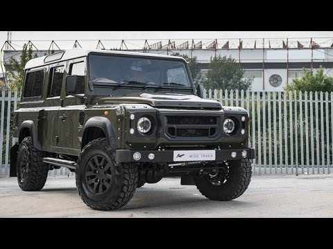 land rover defender tuned by kahn design and chelsea truck. Black Bedroom Furniture Sets. Home Design Ideas