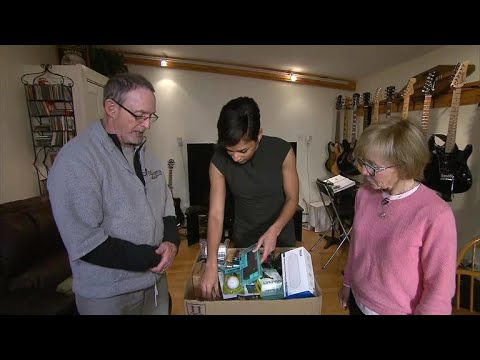 Couple swamped by Amazon packages that they never ordered