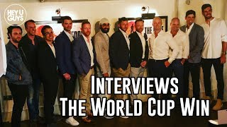 England Cricket Legends on England's World Cup Win against New Zealand