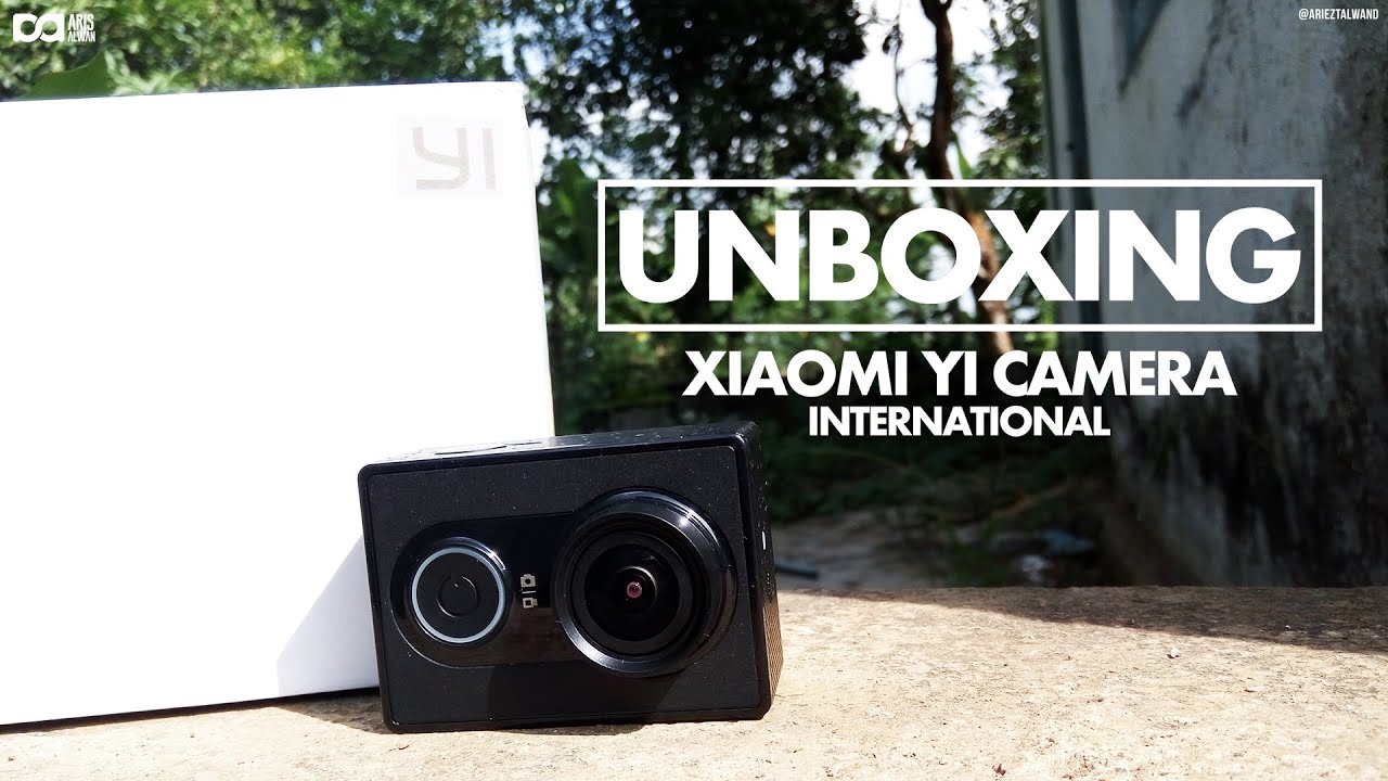 Unboxing Xiaomi Yi Cam International Indonesia By Aris Alwan Ampamp China Version Complete Set Baterai Battery Charger