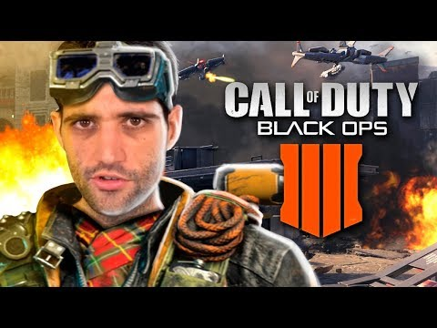 Zumbis pegando FOGO no Titanic - Call of Duty: Black Ops 4