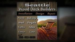 Deck Repair Seattle | 206-453-6088 | Wood | Repair | Balcony | Porch | Seattle