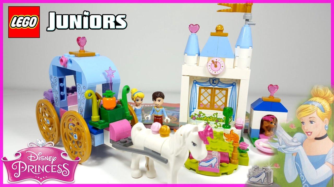 Lego Juniors 10729 Disney Princess Cinderella's Carriage ...