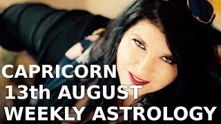 Capricorn Weekly Forecast 13th August 2018