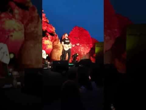 Ed Sheeran tearing up Hanging Rock 2017 (Live)