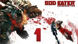 God Eater Resurrection ✔ Прохождение на русском ✔ #1 - Прибытие в Фенрир