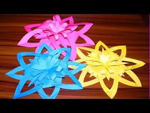 pretty-flower-ideas-||-crafts-to-do-when-your-bored-at-home-with-paper-easy-||-karukala-craft