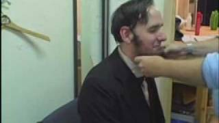 Backstage Intiman: Abe Lincoln Gets His Beard On
