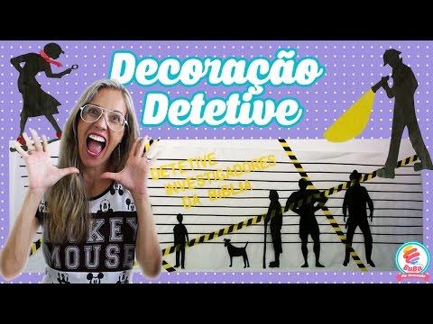 FESTA DETETIVES (party detective )