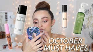 OCTOBER FAVORITES | 2019 - best makeup of the month!