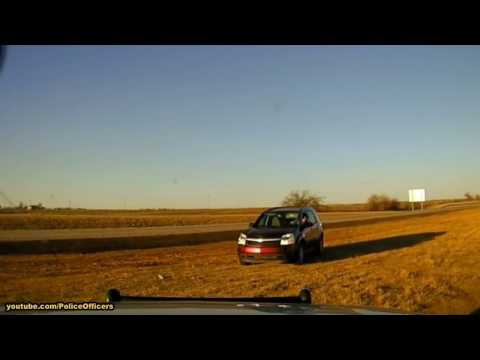 Police chase 2017, Union City, Oklahoma